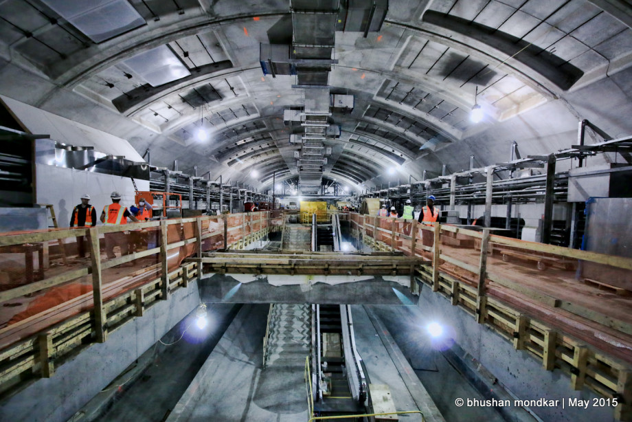 Second Avenue Subway 82% Completed!